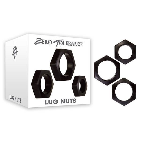 Lug Nuts Black (set Of 3)