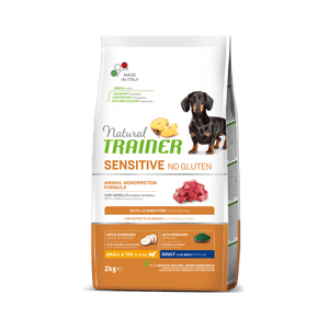 NATURAL TRAINER DOG SENSITIVE® (НАТУРАЛ ТРЕЙНЕР ДОГ СЕНСІТІВ®) Едалт Міні з ягнятиною.