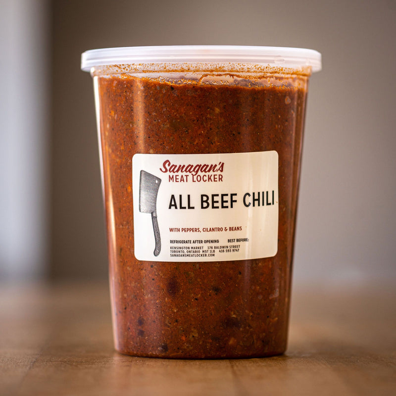 ALL BEEF CHILI