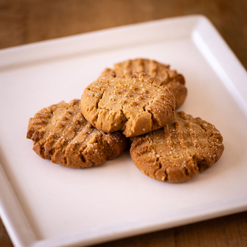 'Not So Classic' Peanut Butter and Bacon Fat Cookies
