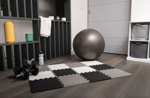 What is the best flooring for a home gym?