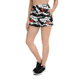 "MONSTERS ""IN WAVES"" WOMEN'S SHORTS"
