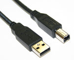USB A to B Male/Male, RUSB003-XXBK