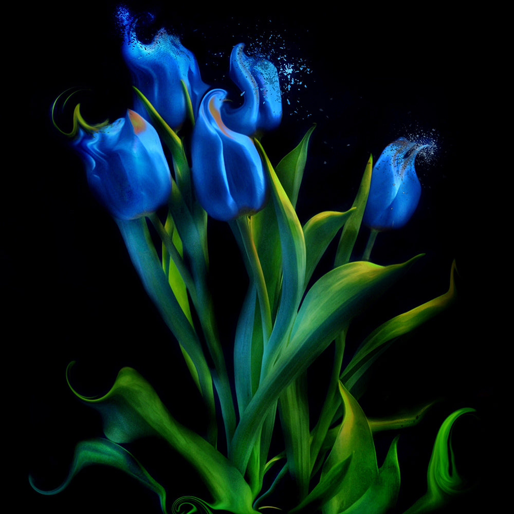 Load image into Gallery viewer, Blue Tulips