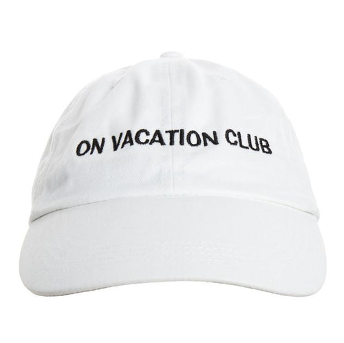 BRINGING VACATION. EVERYDAY. ENJOY LIFE.  Die Club Cap im Vintage-Style setzt bei jedem Outfit ein Statement.  Über das Produkt 100% Baumwolle 6-Panel Construction Vintage