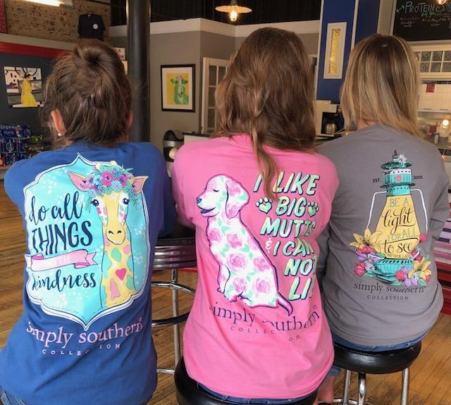 SIMPLY SOUTHERN DO ALL THINGS, I LIKE BIG MUTTS, BE A LIGHT T-SHIRTS