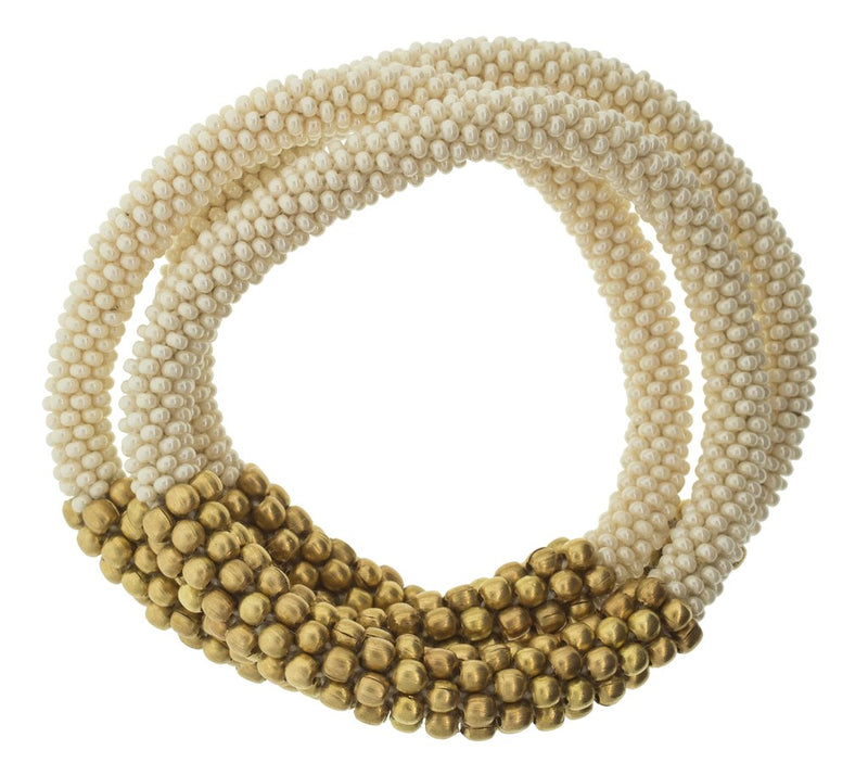 STATEMENT BRACELET CREAM