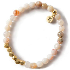 Rainbow Agate Gemstone Bracelet mini