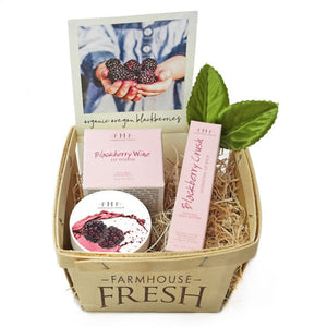 blackberry lip gift set