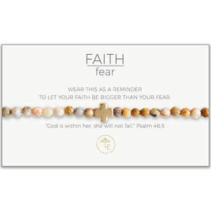 Lenny & Eva- Faith Over Fear Bracelet