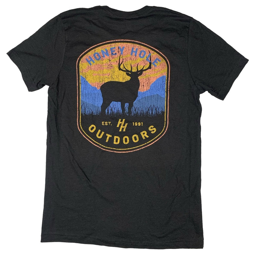 Mens Honey Hole Deer T-Shirt