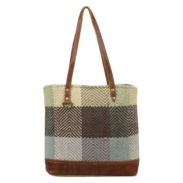 Blocks Blend Tote Bag