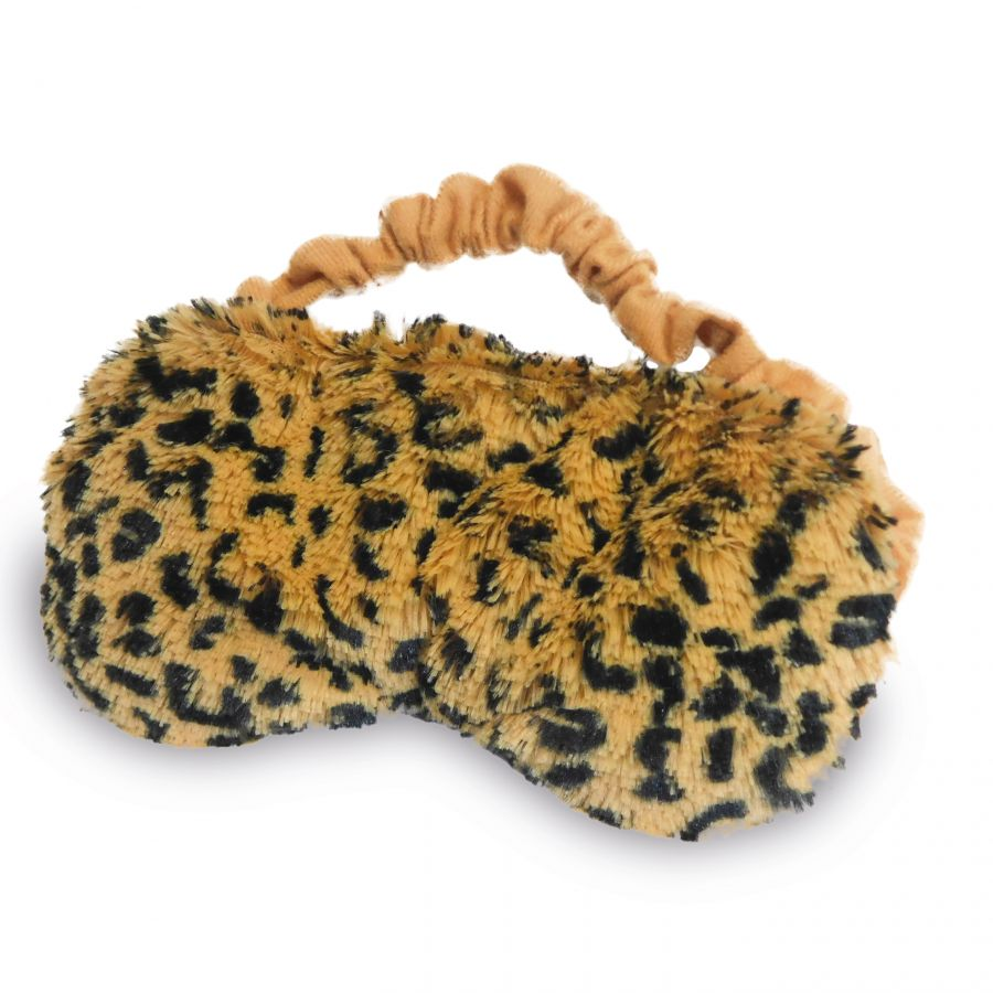 Warmies therapeutic eye mask in leopard