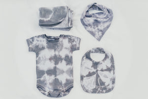 GREY SHIBORI BABY SET