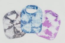 Load image into Gallery viewer, PURPLE SHIBORI BIB