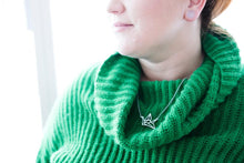 Load image into Gallery viewer, Origami Crane Necklace