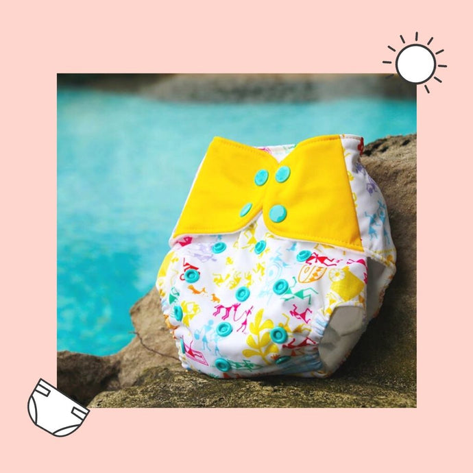 Ready For A Splash With Your SuperBottoms Stash – Reusable Swim Diapers