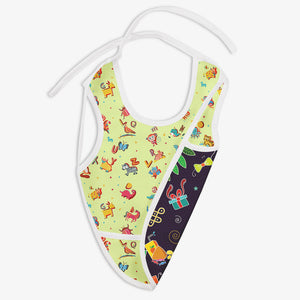 Festoon And A for Animal - Waterproof Cloth Bib