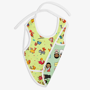 Colours of India and A for Animal - Waterproof Cloth Bib