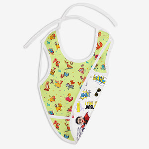 A for Animal and Very Filmy - Waterproof Cloth Bib