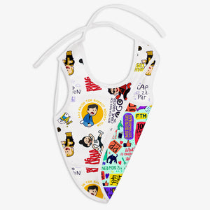 Very Filmy and Mommy Talk - Waterproof Cloth Bib