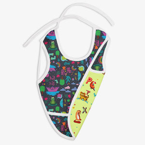 Rimzhim And A for Animal - Waterproof Cloth Bib