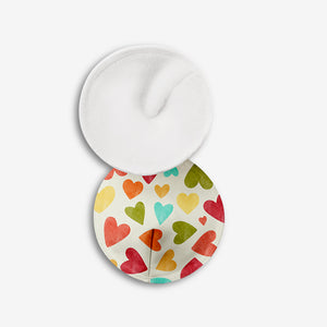 Baby Hearts - Dry Feel Organic Cotton Nursing Pads | SuperBottoms