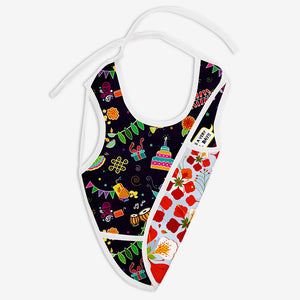 Festoon and Gulmohar - Waterproof Cloth Bib
