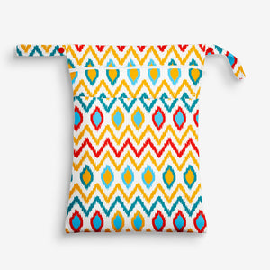 IKAT CHEVRON - WATERPROOF CLOTH BAG