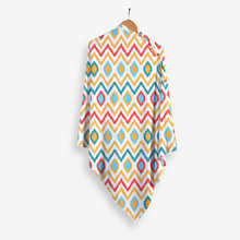 Load image into Gallery viewer, Ikat Chevron - Stole Style Nursing Cover