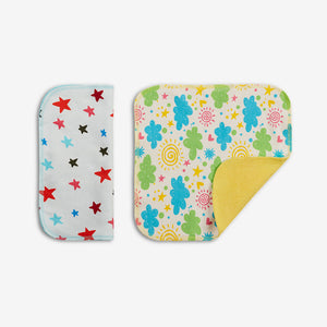 Organic Cloth Wipes | Set of 2 GOTS Organic Cloth Wipes | SuperBottoms
