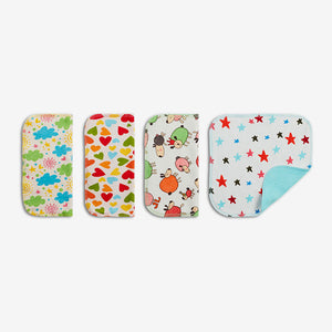 Organic Cloth Wipes (Set of 4 wipes) | SuperBottoms