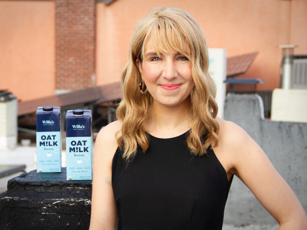 Christina Dorr Drake, co founder of Willa's Kitchen Oat Milk