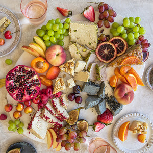 How about some Seed + Mill Halva at your next party? Looking delicious cozied up with some fresh fruit, Seed + Mill Halva makes any dessert platter unforgettable! Gluten-free, dairy-free, and vegan.