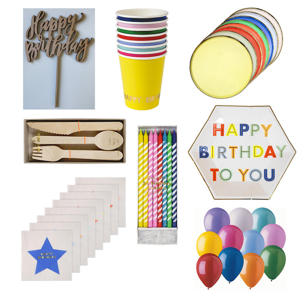 Birthday Party Mini Kit
