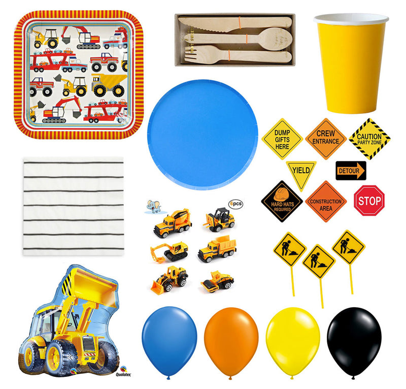 Construction Crew Party Kit