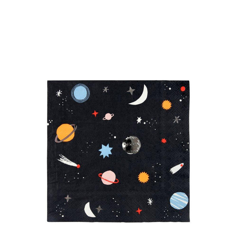 To The Moon Large Napkins