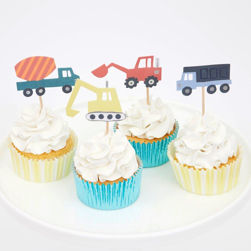 Construction Cupcake Kit