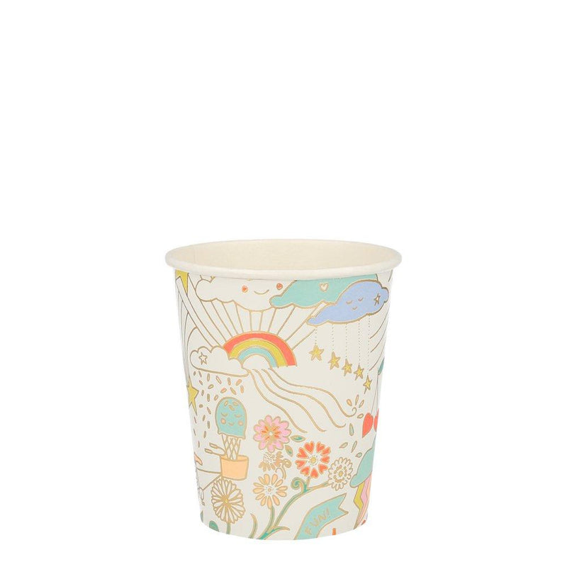 Happy Doodle Party Cup