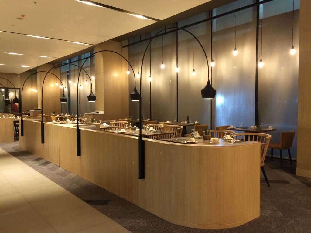 Custom All-Day Dining Booth Lamps