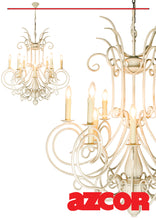 Load image into Gallery viewer, Ladezza Chandelier 12