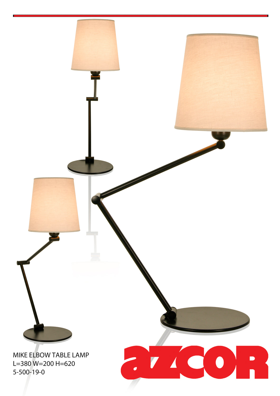 Mike Elbow Table Lamp