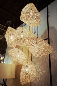 Abaca Abstruse Drop Light