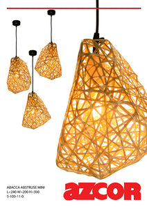 Abaca Abstruse Mini Drop Light