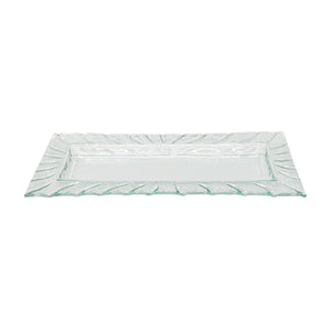 Ribbon Rectangular Long Plate