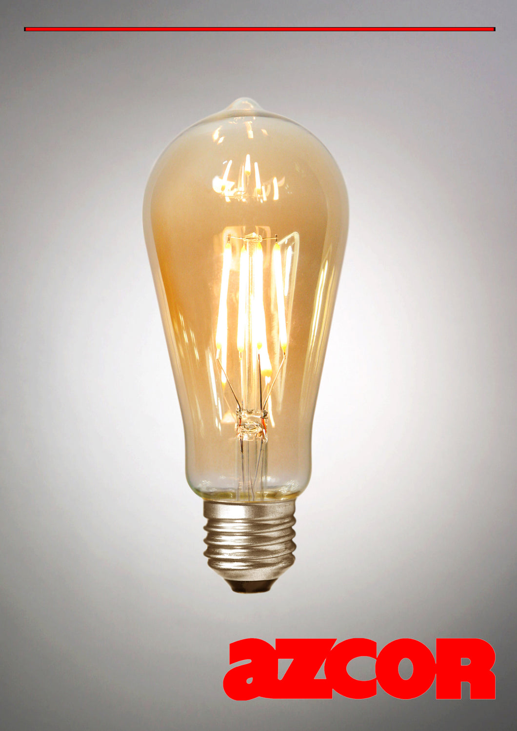 E27 LED Edison Wave Dimmable 4W, Bulb