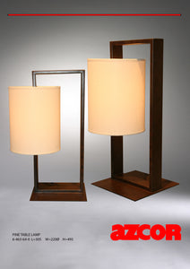 Pine Table Lamp