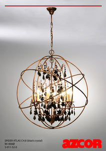Spider Atlas Chandelier 8
