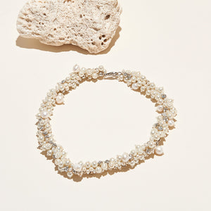 Isadora Pearl Collar Necklace