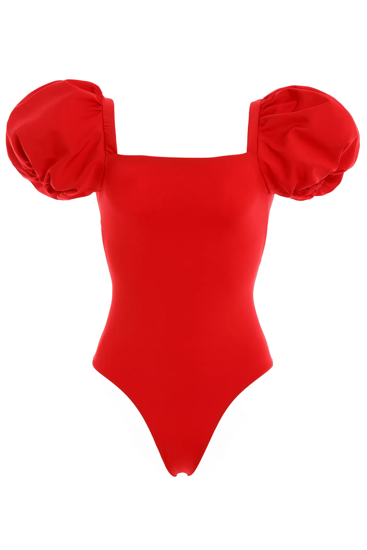 Palma Puff-sleeve One-piece Swimsuit